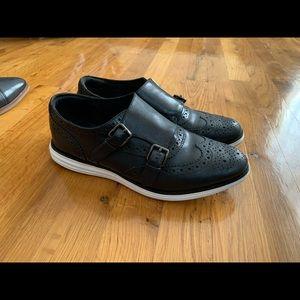 Cole haan original grand monk strap sneaker - 8.5